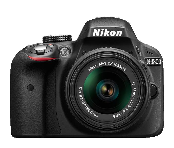 Nikon D3300 kit transparent background