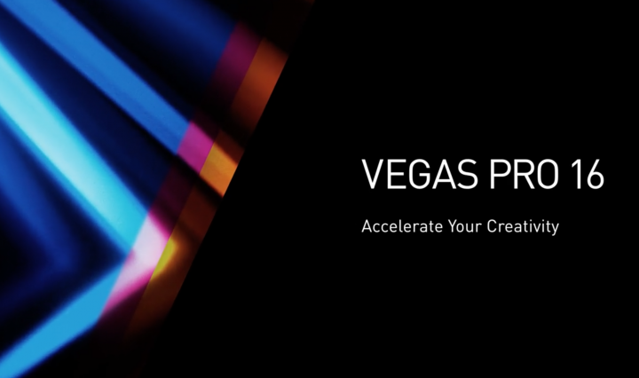 the official promo of new software vegas pro 16