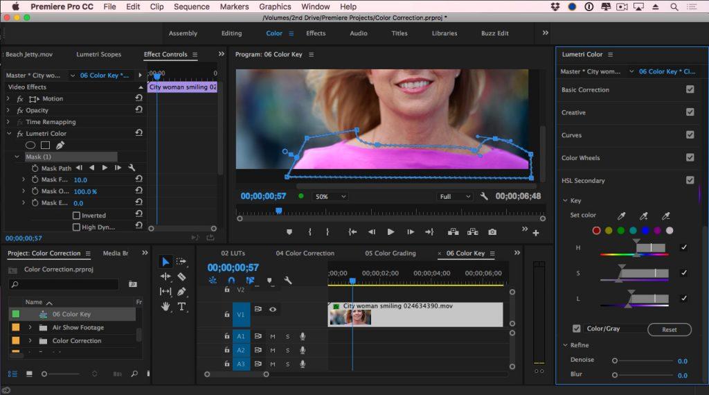 Adobe Premiere Pro masking