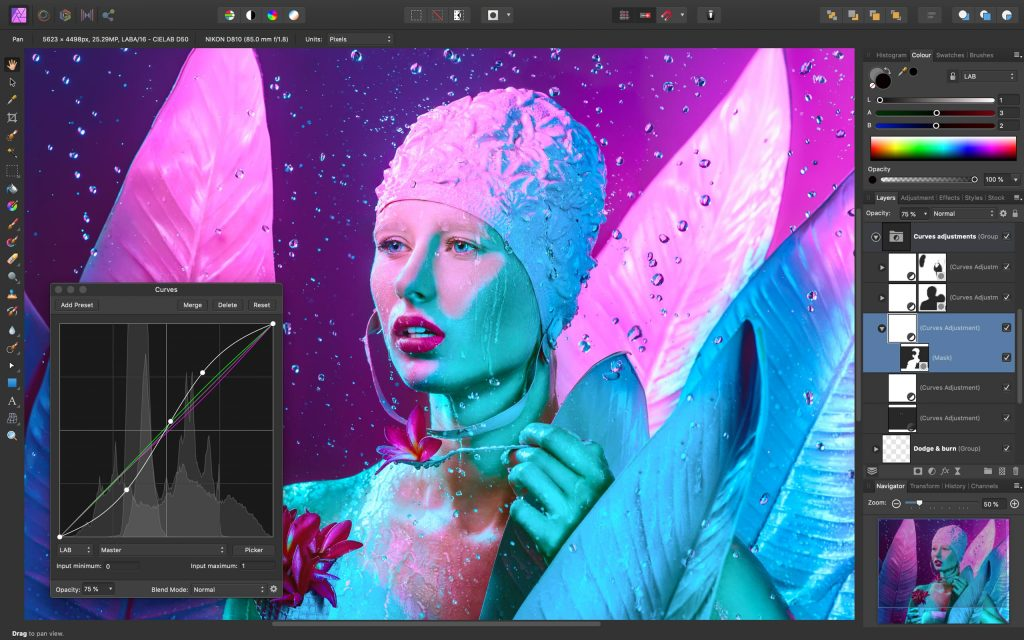 affinity photo photoshop alternative for macos