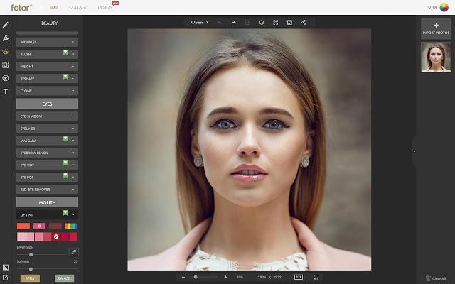 fotor photoshop alternative online