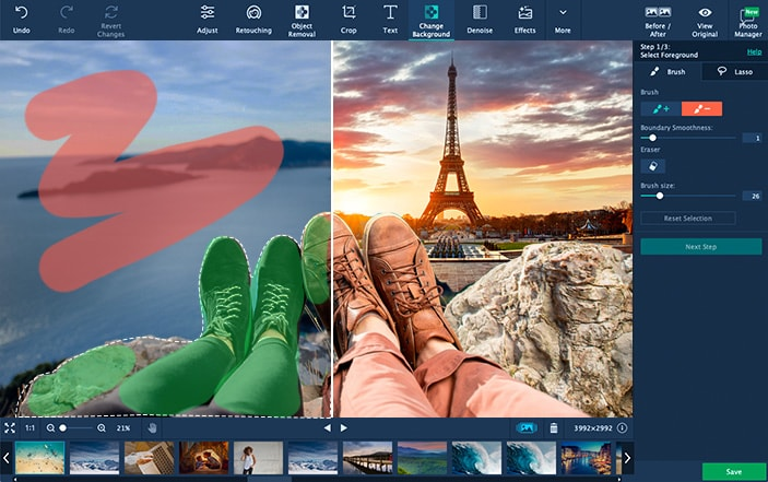 movavi photo editor photoshop alternative for windows and macos