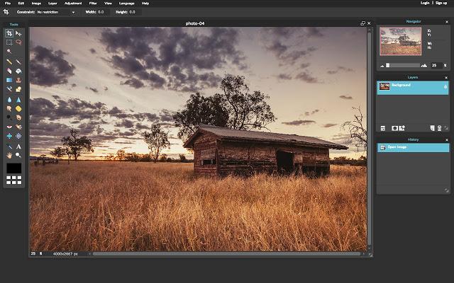 pixlr photoshop alternative for chromebook