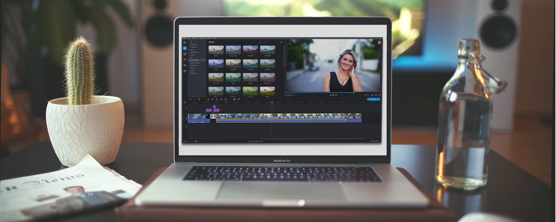 2020 Macbook Pro Review.Movavi Video Editor Plus 2020